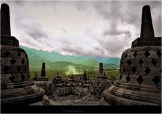 2668INDONESIA JAVA BOROBUDUR by druidabruxux, via Flickr