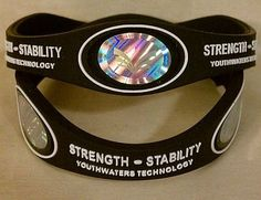The Strength Stability Bracelet.The First of It's Kind Rated #1.Add's to Your Immune System.Also Help's Add Energy, Strength & Stability.Protects You From Harmful Electrical Fields.Designed to Be Beautiful and Fashionable.Feel the Surge of Energy When You Put It On. 3 Large Beautiful Scalar Energy Holograms, Negative Ions, and the Rest Is Our Own Patented Technology.Designed to Work with Our .... $16.99. The strongest bracelet on the market. Gain Energy, Proven Technology!. Ver...