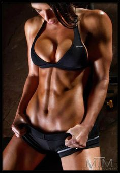 This is sure motivating... makes me feel pretty guilty for missing my workout this morning.