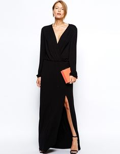 Today's top pick is this black stunning dress from ASOS. It'll make an amazing event dress, and the price couldn't be better. Find it here: http://asos.to/1nAmW0E