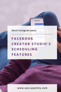 Facebook creator studio's scheduling features Creator Studio, Studio S, The Creator, Social Media Scheduling Tools, Facebook Business, Business Pages, Save Yourself, Schedule, Skincare