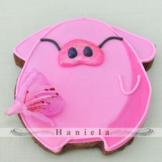 Cookie Pig, from Haniela