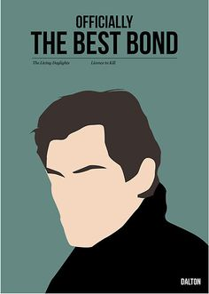 Officially the best bond - Dalton! by Stephen Wildish Repin if Timothy Dalton is your fav!