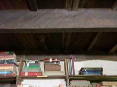The library at Kurisumala Ashram.