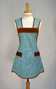 Women's Full Apron Handmade Classic Apron by SwankyPlaceAprons, $30.00