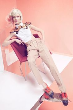 futuristic accessories by halina mrozek - photography łukasz brześkiewicz - label magazine, june 2013 - pinned by RokStarroad.com ~ unleash your inner RokStar - fashion, pop and mental health