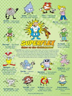 Superflex: A Superhero Social Thinking Curriculum - Central Social Work Services Social Skills Lessons, Social Skills Activities, Teaching Social Skills, Social Emotional Learning, Life Skills, Coping Skills, Therapy Activities, Teaching Empathy, Shape Activities