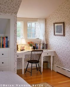 Cute office nook. I want this! [Design: Albert, Righter & Tittman Architects]