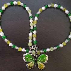 Made by me Beaded Necklace, Jewelry, Fashion, Jewellery Making, Moda, Jewerly, Beaded Necklaces, Fasion, Jewlery