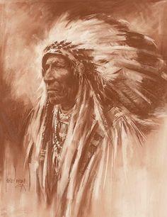 Sarcee Chief Harley Brown n.d.