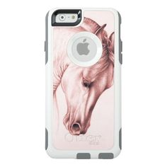 Shop Pretty Stallion OtterBox iPhone Case created by EveyArtStore. Phone Cases Iphone6, Iphone 6 Cases, Cell Phone Holder, Synthetic Rubber, Apple Iphone 6, Protective Cases, Survival, Fire, Random