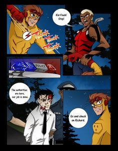 Young Justice Comic pages: Art by: Moogle-of-the-Valley Story by: BlackFriar Hope you enjoy! Robin Comics, Robin Dc, Batman Robin, Dc Comics, Nightwing Young Justice, Young Justice Comic, Young Justice Season 3, Young Justice League, Spitfire Young Justice