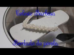 Como fazer trançado de manta de strass para chinelo Aula 21 - YouTube
