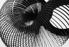 Peter Keetman - Stahlspirale, 1996 - Regard Intemporel