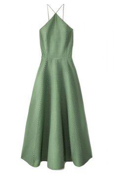 Michael Kors dress, $2,695, shopBAZAAR.com.