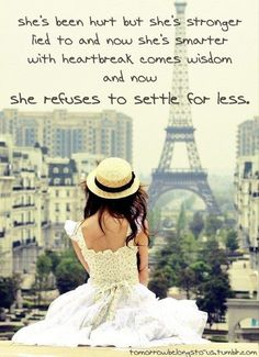 I refuse to settle for less than God's best.
