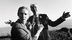 Frances Conroy and James Cromwell as Ruth and George :: Six Feet Under [photo by Claire Fisher] Series Movies, Tv Series, 6 Feet Under, James Cromwell, Frances Conroy, Sleep Forever, Opening Credits, Great Tv Shows, S Pic