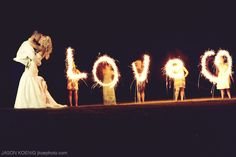 Great info on wedding sparklers -- they aren't the same as regular sparklers!