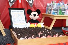 Mickey Mouse Party Birthday Party Ideas   Photo 2 of 20   Catch My Party