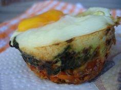 Paleo Spinach Sweet Potato Egg Nests