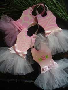 Christmas Ornaments Tutu Ballerina Princess. $10.00, via Etsy.