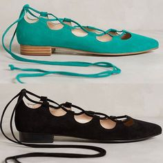 Rank & Style - Billy Ella Lace-Up Flats #rankandstyle
