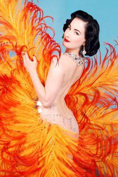 Dita Von Teese #Burlesque