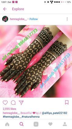 Arabic Bridal Mehndi Designs, Wedding Henna Designs, Henna Art Designs, Mehndi Designs For Girls, Stylish Mehndi Designs, Dulhan Mehndi Designs, Mehndi Designs For Fingers, Mehndi Design Pictures, Mehndi Desing