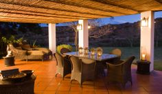 Patterson Suite - In the Manor House with its own lounge, fireplace and spectacular terrace views Lodges, Wilderness, South Africa, Terrace, Safari, Pergola, Outdoor Structures, Patio, Camps