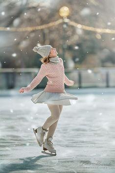 Free to be me. - Lilia Alvarado on Fstoppers Figure Ice Skates, Figure Skating, Ice Skating Pictures, Katharina Witt, Poses, Tonya Harding, Winter Songs, Ice Rink, Ice Skaters