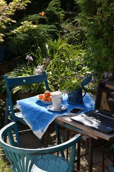 Jane at home: zahrada | Creative blog