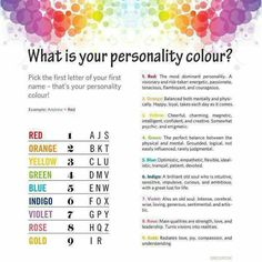 Personality color