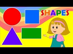 ▶ Learn about Shapes with Elly - Fun & Educational for Babies, Toddler, Kindergarten Kids - YouTube