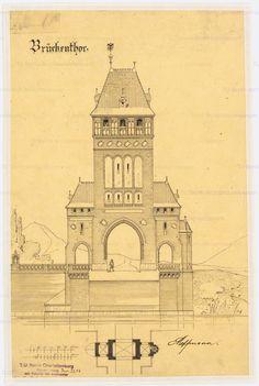 German Architecture, Hoffmann, Towers, Notre Dame, Big Ben, Castles, Taj Mahal, Medieval, Germany