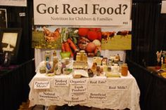 """Got Real Food? - It has become increasingly difficult for mothers to provide healthy meals for their children and families. Fast food and busy lifestyles contribute to unhealthy eating habits. We can steer you in the right direction to understand what to eat and how to feed your families """"real"""" food at home and on the go."""