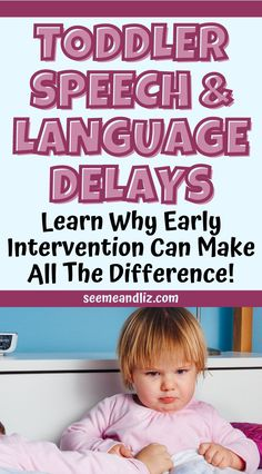 """Early intervention speech therapy can make all the difference in the life of a young child! Parents, learn why it is important to NOT take a """"wait and see"""" approach when it comes to your toddler's speech and language development! Parenting Articles, Kids And Parenting, Parenting Hacks, Toddler Language Development, Child Development, Toddler Speech, Toddler Preschool, Fun Activities For Toddlers, Infant Activities"""