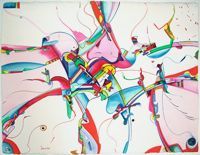 Alex Janvier Aboriginal visual artist l The Official Website Cobra Art, Group Of Seven, Canadian Artists, Art School, American Art, Art Lessons, New Art, Random Things, Nativity