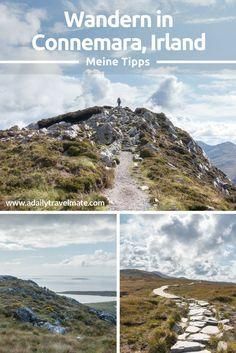 Wandern in Connemara, Irland. Hier findest DumMeine Tipps und Tourenvorschläge für deine Reise nach Irland #irland #irlandreise #wandern #connemara