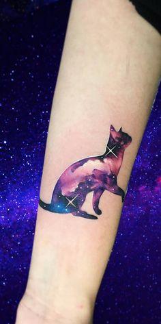 Space tattoos nebula stars