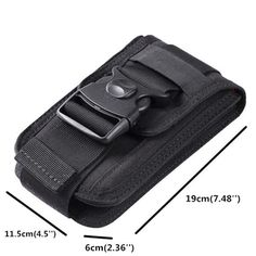 6 Inch Outdoor Tactical Phone Holder Card & Coin Pocket For Men