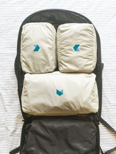 Minaal Packing Cubes in Carry-on