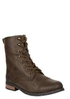 Wanted Prague Lace-Up Boot- neeeeeed these!!                                                       		  Wanted Prague Lace-Up Boot  Was: $52.50  Now: $42.50  Read ReviewsWrite a review  COLORS: BROWN            COLOR:  SIZE:    Size Chart  QUANTITY: