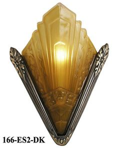44 : Art Deco Sconce