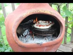 How to Make a Pizza Oven with your Chiminea - YouTube
