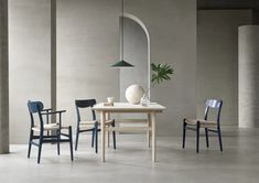 Hans J. Wegner CH23 Iconic Dresses, Nordic Design, Chair Design, Icon Design, Dining Table, Lounge, Colours, Contemporary, Interior