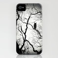 Spooky woods iPhone case.
