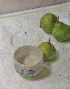 Duane Keiser (f. 1966) Egg? I seem to have a strong attraction to bowls in paintings....