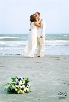 Wedding Photography Ideas : #beach #wedding