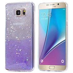 Samsung Note 5 Case -Floveme® Fashion Shiny Bling Glitter Sparkly Star Design Soft TPU Transparent Clear Cover Case for Samsung Galaxy Note 5 (Silvery and Purple) FLOVEME http://www.amazon.com/dp/B015U53BO6/ref=cm_sw_r_pi_dp_c-KAwb1C5FFG4