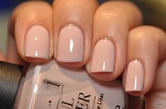 OPI: Let them eat rice. The PERFECT nude polish. I've been looking for a good nude polish! Hair And Nails, My Nails, Nude Nails, Neutral Nails, Acrylic Nails, Pink Nails, Nail Colors For Pale Skin, Opi Pink, Red Nail